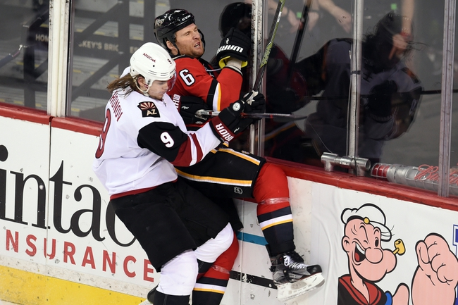 Coyotes vs. Flames - 3/28/16 NHL Pick, Odds, and Prediction