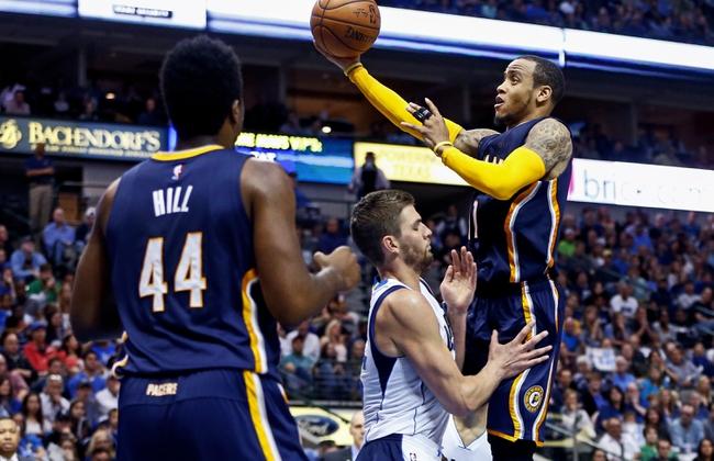 Dallas Mavericks at Indiana Pacers - 10/26/16 NBA Pick, Odds, and Prediction