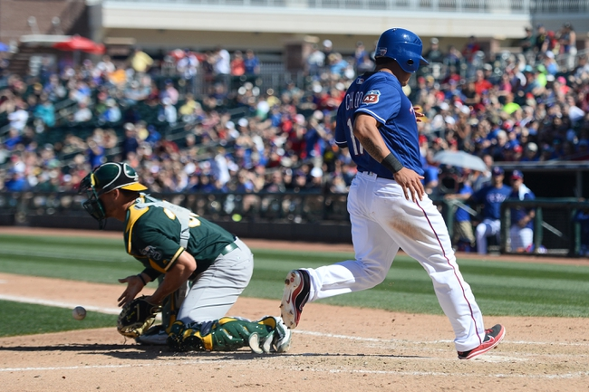 Oakland Athletics vs. Texas Rangers - 5/16/16 MLB Pick, Odds, and Prediction