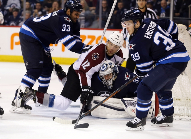 Colorado Avalanche vs. Winnipeg Jets - 10/28/16 NHL Pick, Odds, and Prediction