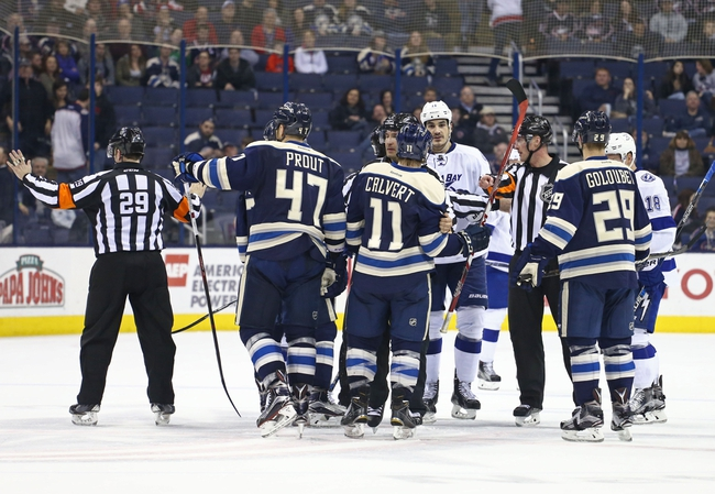 Tampa Bay Lightning vs. Columbus Blue Jackets - 11/25/16 NHL Pick, Odds, and Prediction