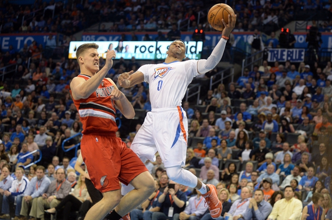 Trail Blazers vs. Thunder - 4/6/16 NBA Pick, Odds, and Prediction