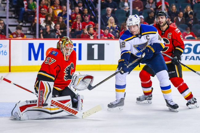 Calgary Flames vs. St. Louis Blues - 10/22/16 NHL Pick, Odds, and Prediction