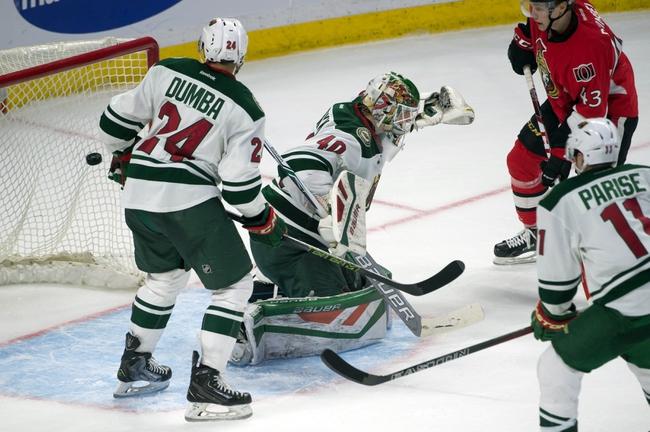 Minnesota Wild vs. Ottawa Senators - 3/31/16 NHL Pick, Odds, and Prediction