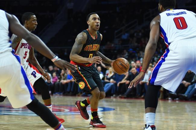 Pistons vs. Hawks - 3/26/16 NBA Pick, Odds, and Prediction