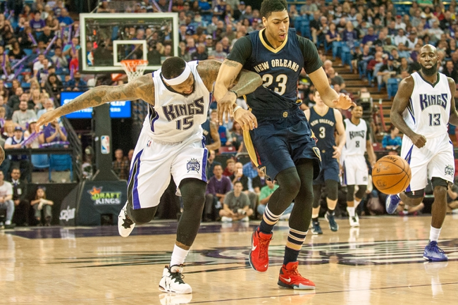 Sacramento Kings vs. New Orleans Pelicans - 11/8/16 NBA Pick, Odds, and Prediction