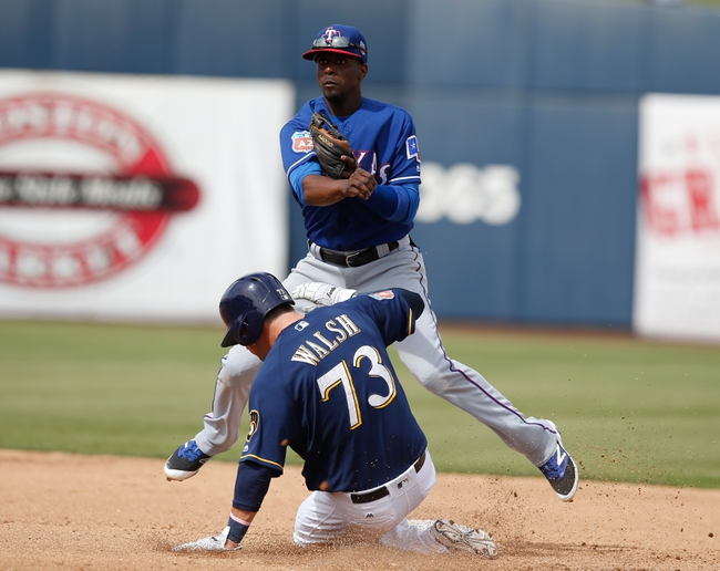 Texas Rangers vs. Milwaukee Brewers - 9/26/16 MLB Pick, Odds, and Prediction