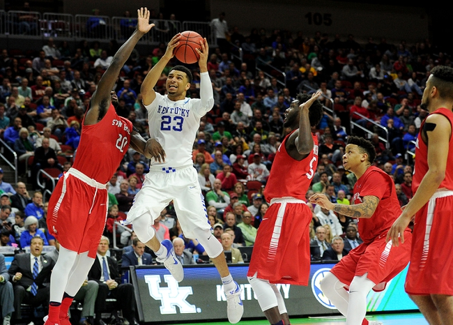 Kentucky vs. Indiana - 3/19/16 NCAA Tournament College Basketball Pick, Odds, and Prediction