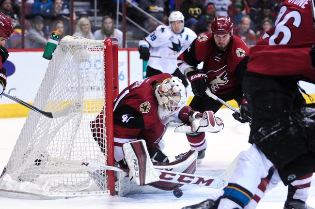 Arizona Coyotes vs. San Jose Sharks - 11/1/16 NHL Pick, Odds, and Prediction