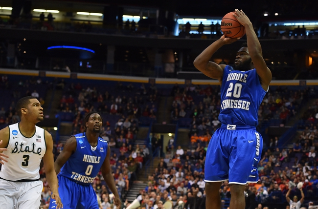 Middle Tennessee vs. Toledo - 11/22/16 College Basketball Pick, Odds, and Prediction