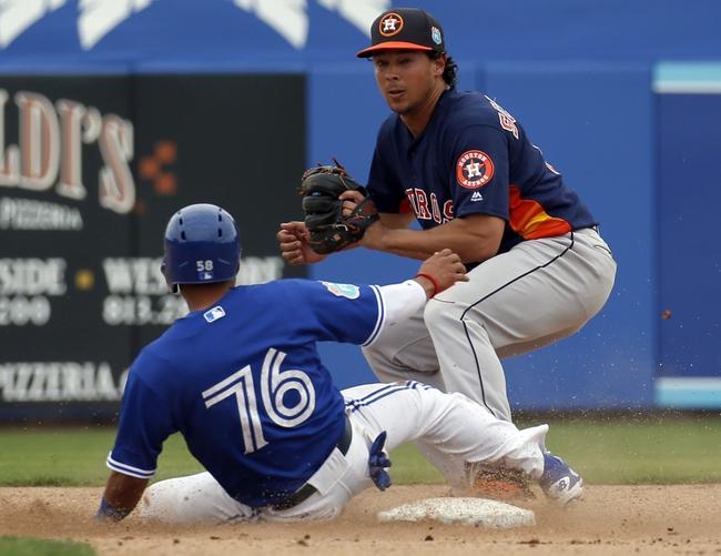 Houston Astros vs. Toronto Blue Jays - 8/1/16 MLB Pick, Odds, and Prediction