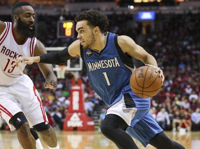 Timberwolves vs. Rockets - 4/11/16 NBA Pick, Odds, and Prediction