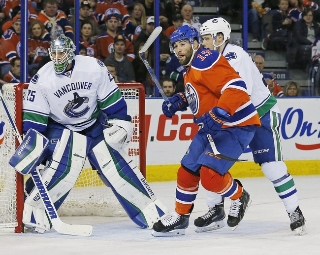 Edmonton Oilers vs. Vancouver Canucks - 4/6/16 NHL Pick, Odds, and Prediction