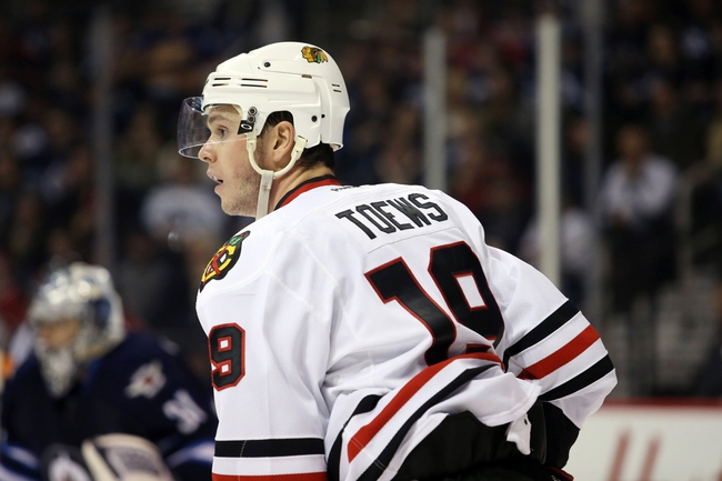 Winnipeg Jets vs. Chicago Blackhawks - 4/1/16 NHL Pick, Odds, and Prediction