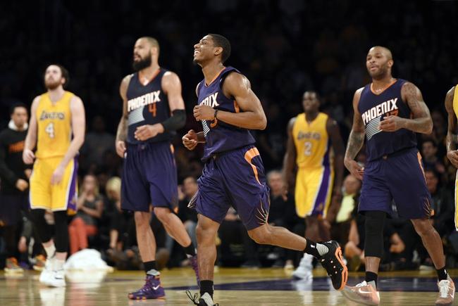 Suns vs. Lakers - 3/23/16 NBA Pick, Odds, and Prediction
