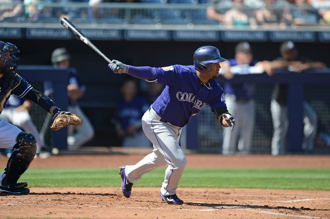 Rockies vs. Padres - 4/8/16 MLB Pick, Odds, and Prediction
