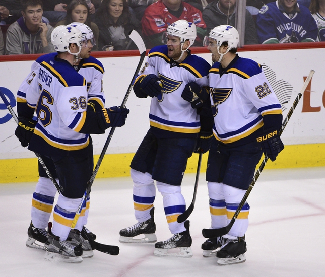 St. Louis Blues vs. Vancouver Canucks - 3/25/16 NHL Pick, Odds, and Prediction