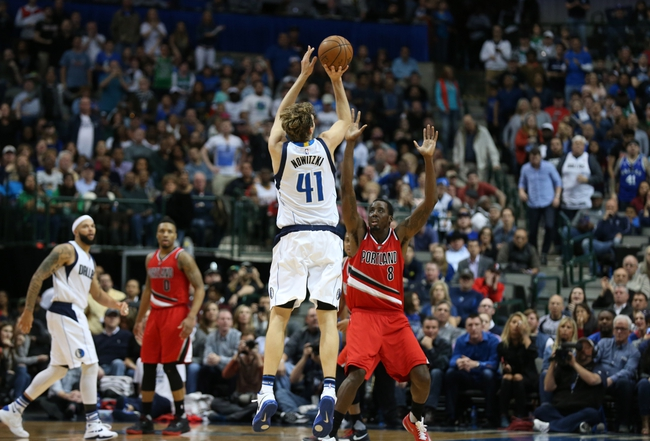 Trail Blazers vs. Mavericks - 3/23/16 NBA Pick, Odds, and Prediction