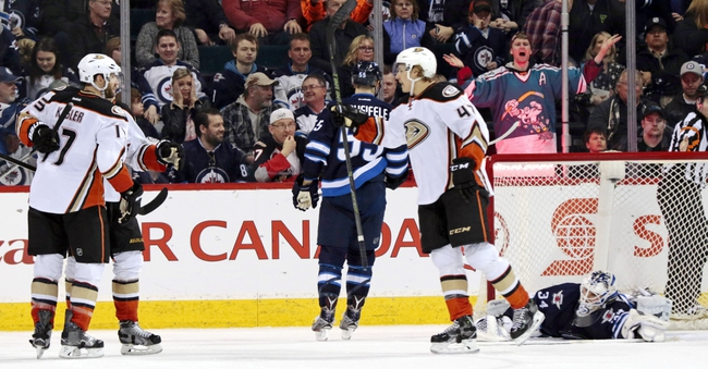 Ducks vs. Jets - 4/5/16 NHL Pick, Odds, and Prediction