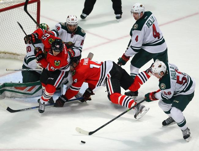 Wild vs. Blackhawks - 3/29/16 NHL Pick, Odds, and Prediction