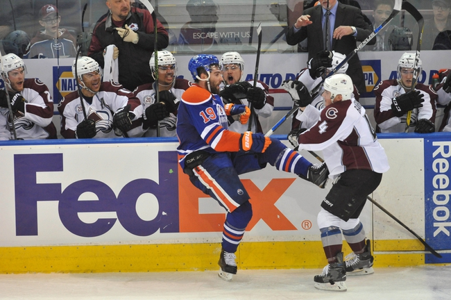 Colorado Avalanche vs. Edmonton Oilers - 11/23/16 NHL Pick, Odds, and Prediction