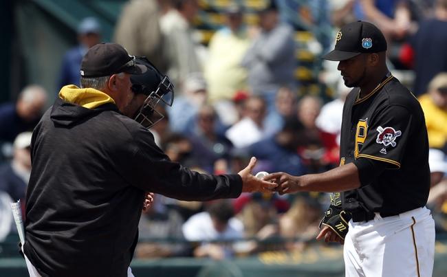 Pittsburgh Pirates vs. Atlanta Braves - 5/16/16 MLB Pick, Odds, and Prediction