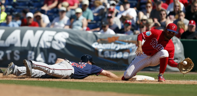 Phillies at Twins - 6/21/16 MLB Pick, Odds, and Prediction