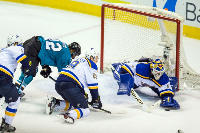 Sharks at Blues Game 1 - 5/15/16 NHL Pick, Odds, and Prediction