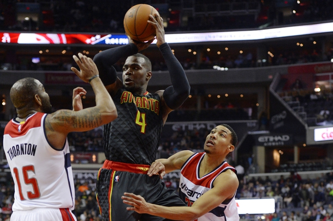 Hawks at Wizards - 4/13/16 NBA Pick, Odds, and Prediction