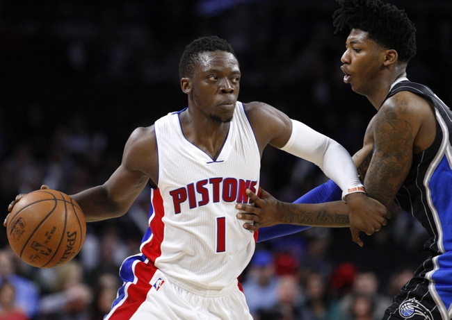 Magic vs. Pistons - 4/6/16 NBA Pick, Odds, and Prediction
