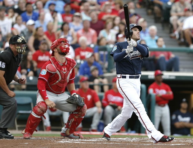 Phillies at Braves - 5/10/16 MLB Pick, Odds, and Prediction