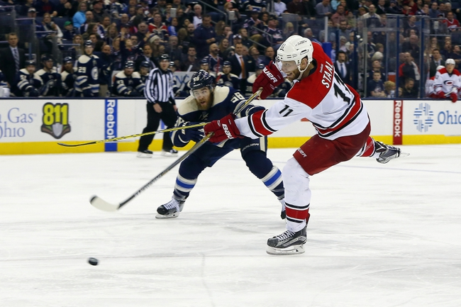 Carolina Hurricanes vs. Columbus Blue Jackets - 4/2/16 NHL Pick, Odds, and Prediction