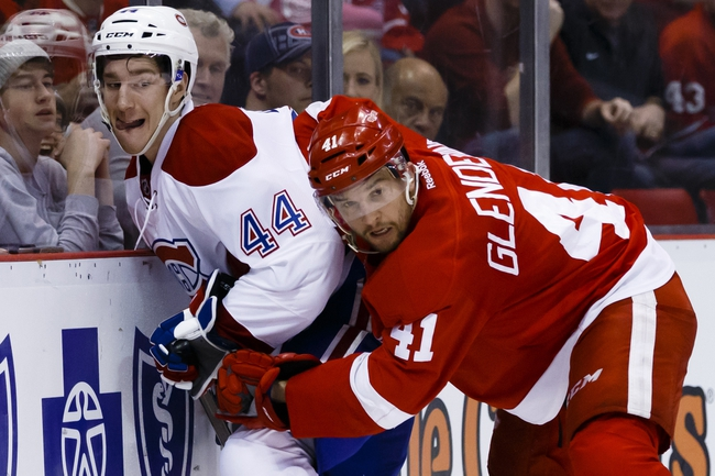 Montreal Canadiens vs. Detroit Red Wings - 3/29/16 NHL Pick, Odds, and Prediction