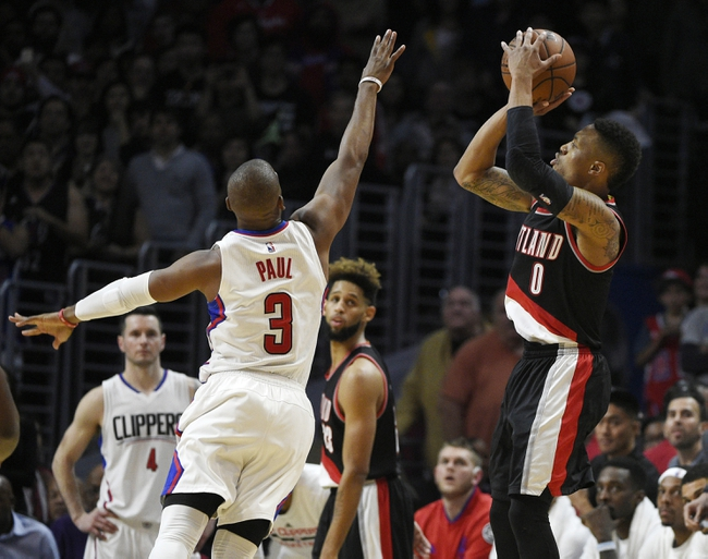 Trail Blazers at Clippers Game 1- 4/17/16 NBA Pick, Odds, and Prediction