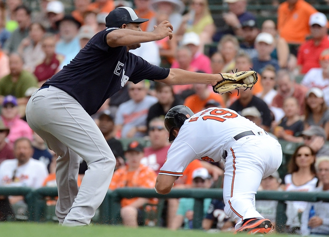 Baltimore Orioles vs. New York Yankees - 5/3/16 MLB Pick, Odds, and Prediction