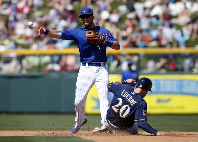 Brewers at Cubs - 4/28/16 MLB Pick, Odds, and Prediction