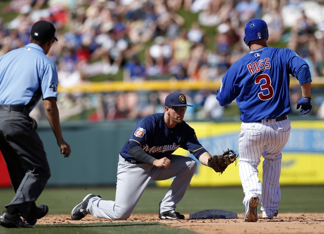 Chicago Cubs vs. Milwaukee Brewers - 4/26/16 MLB Pick, Odds, and Prediction