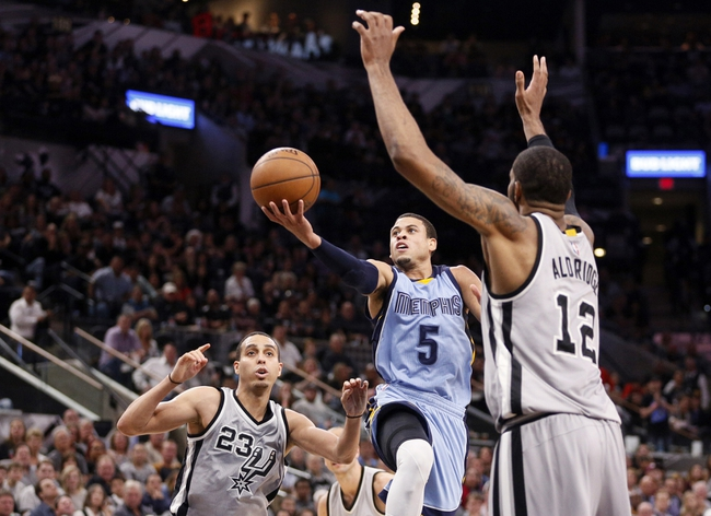 Grizzlies vs. Spurs - 3/28/16 NBA Pick, Odds, and Prediction