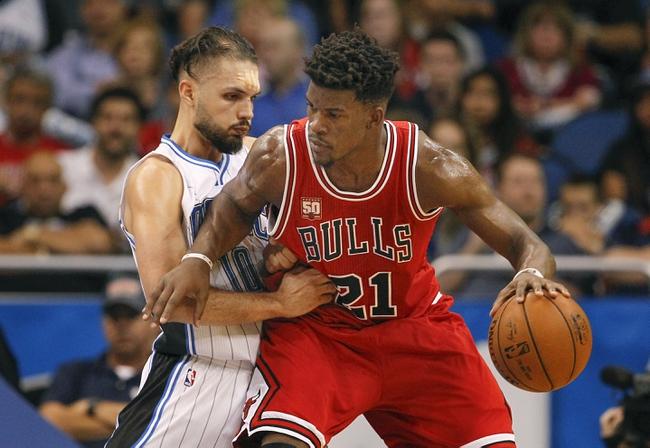 Chicago Bulls vs. Orlando Magic - 11/7/16 NBA Pick, Odds, and Prediction
