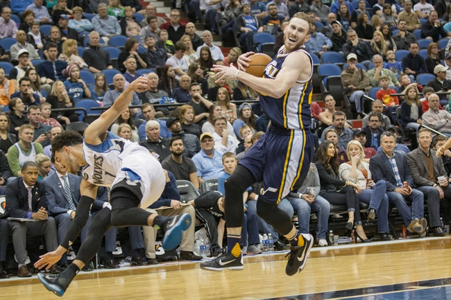 Jazz vs. Timberwolves - 4/1/16 NBA Pick, Odds, and Prediction
