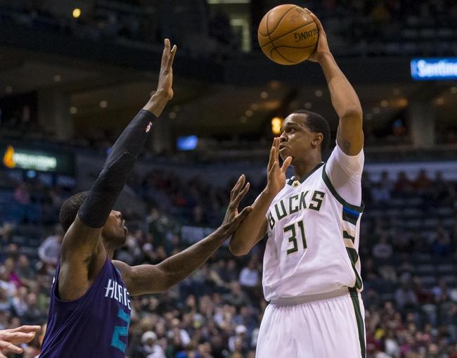 Charlotte Hornets at Milwaukee Bucks - 10/26/16 NBA Pick, Odds, and Prediction