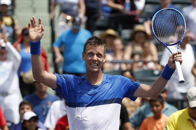 Richard Gasquet vs. Tomas Berdych 2016 Miami Masters Pick, Odds, Prediction