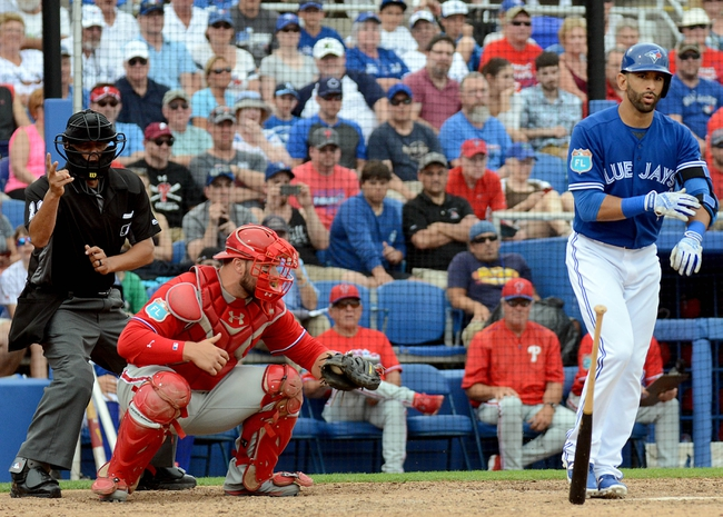 Toronto Blue Jays vs. Philadelphia Phillies - 6/13/16 MLB Pick, Odds, and Prediction