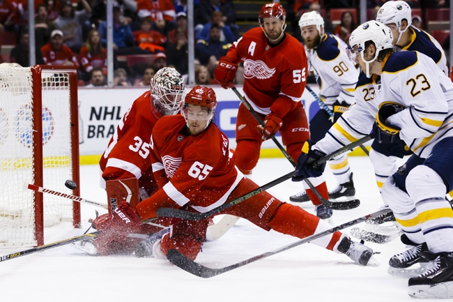 Buffalo Sabres vs. Detroit Red Wings - 11/23/16 NHL Pick, Odds, and Prediction