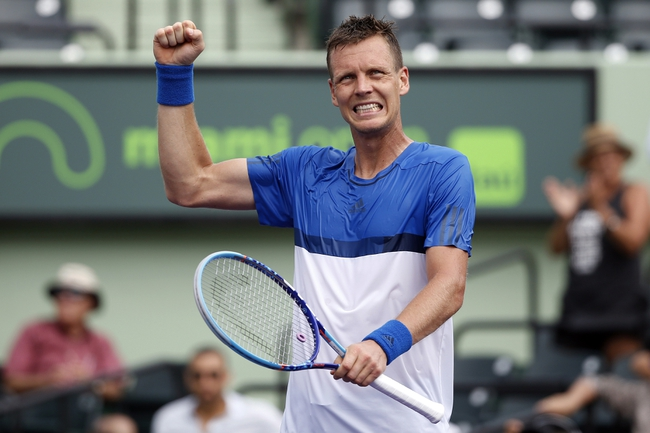 Tomas Berdych vs. Malek Jaziri 2016 French Open Pick, Odds, Prediction