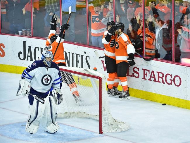 Philadelphia Flyers vs. Winnipeg Jets - 11/17/16 NHL Pick, Odds, and Prediction