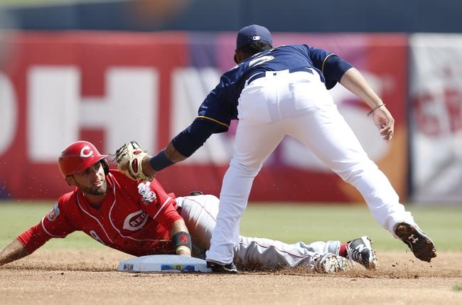 Cincinnati Reds vs. Milwaukee Brewers - 5/5/16 MLB Pick, Odds, and Prediction