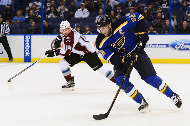 Colorado Avalanche vs. St. Louis Blues - 4/3/16 NHL Pick, Odds, and Prediction