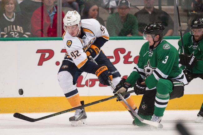 Nashville Predators vs. Dallas Stars - 10/18/16 NHL Pick, Odds, and Prediction