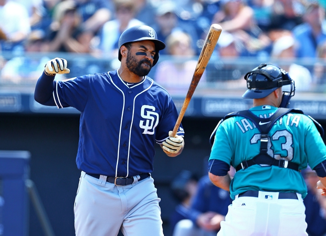 Seattle Mariners vs. San Diego Padres - 5/30/16 MLB Pick, Odds, and Prediction